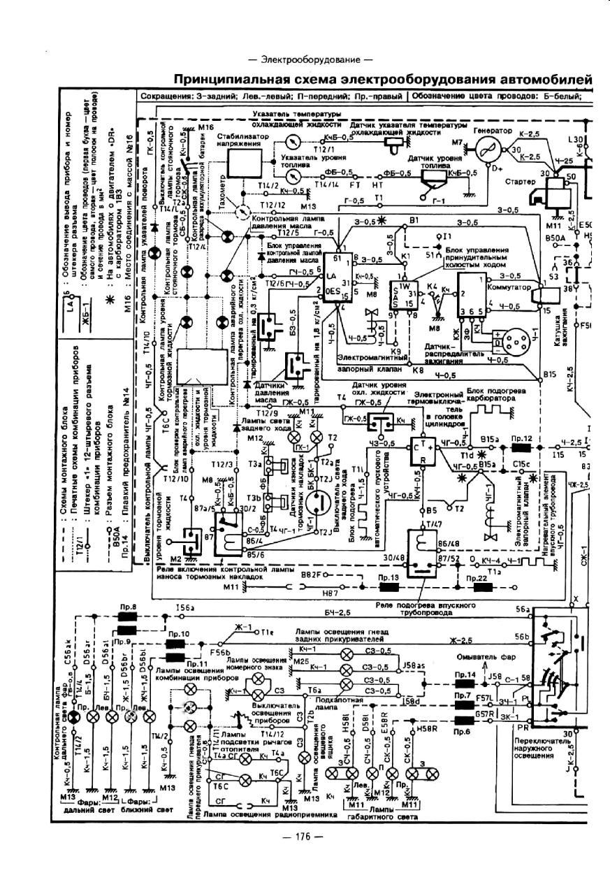Кликните на картинку, чтобы увидеть полноразмерную версию.  Скачать Схемы электрооборудования Audi 100 83-91г (Атласы...