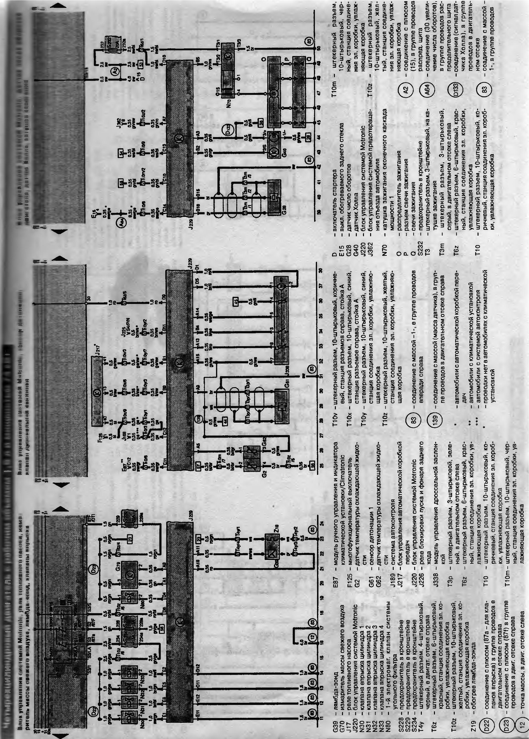 Схема электрооборудования audi-100 1994г | Схемы усилителей: http://sytrade.ru/shema-e-lektrooborudovaniya-audi-100-1994g/