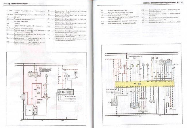 Электрическая схема автобуса daewoo