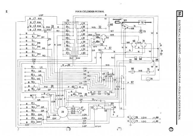 Схемы электрооборудования Land