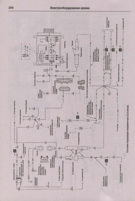 Электросхема крайслер вояджер