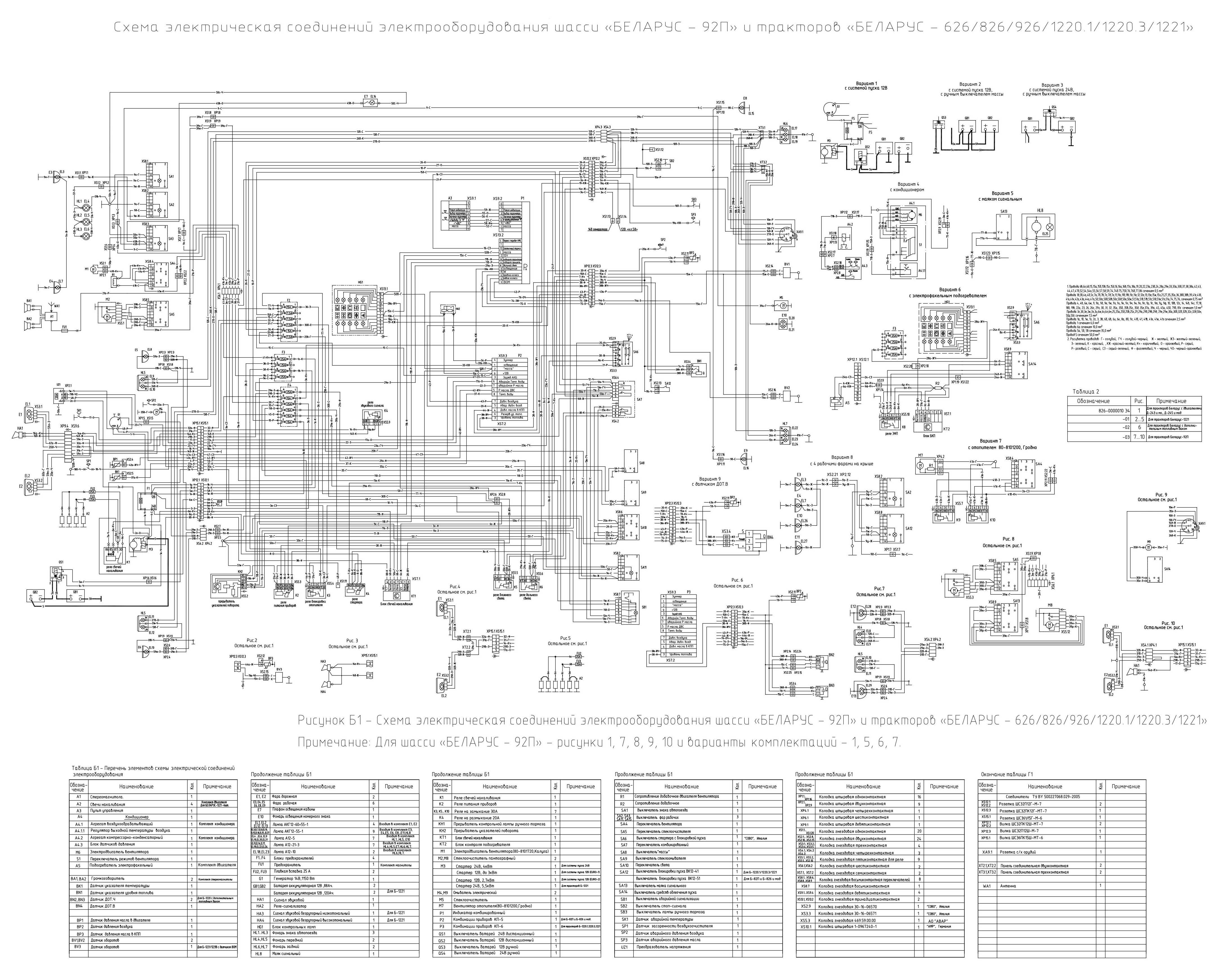 схема электрооборудования туарег 2003