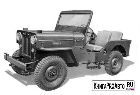 Каталог деталей Jeep Willys 1944 (Model CJ3B)