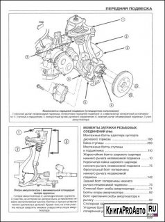 Книга по ремонту CHRYSLER SEBRING, DODGE STRATUS, ГАЗ SIBER